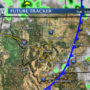 Cold front moving across area