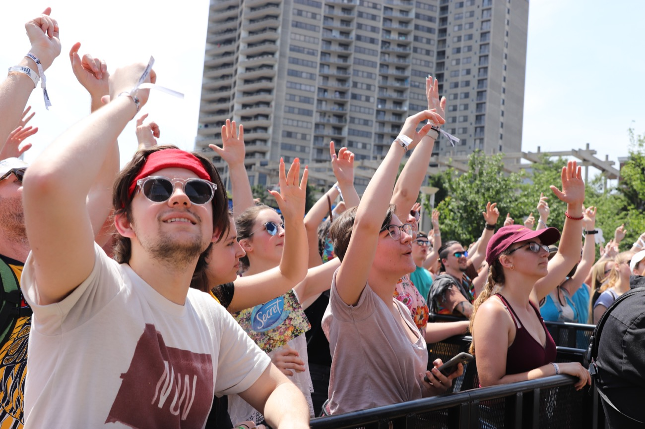 Bunbury Festival is back on the banks of the Ohio River June 1-3, and it's better than ever thanks to headliners Jack White, Blink-182, The Chainsmokers, and Incubus. Make sure not to miss undercards GRiZ, Misterwives, Gang of Youths, and Cincinnati outfit Moonbeau. And, as always, stay hydrated! / Image:{ } Neil Shumate