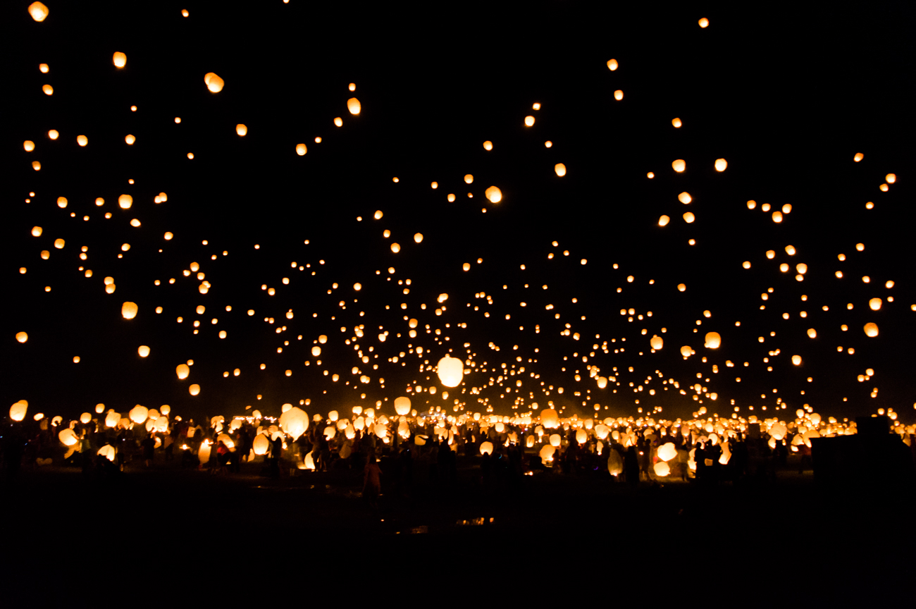 Lantern Fest was held at the Kentucky Speedway on June 24. Thousands of people of all ages gathered together for live music, snacks, and the lighting of lanterns once the sun set. The summer event is a visually-stunning experience that provides symbolic release for many and photo ops for others. ADDRESS: 1 Kentucky Speedway Blvd. (41086) / Image: Cat Perlson // Published: 6.26.17