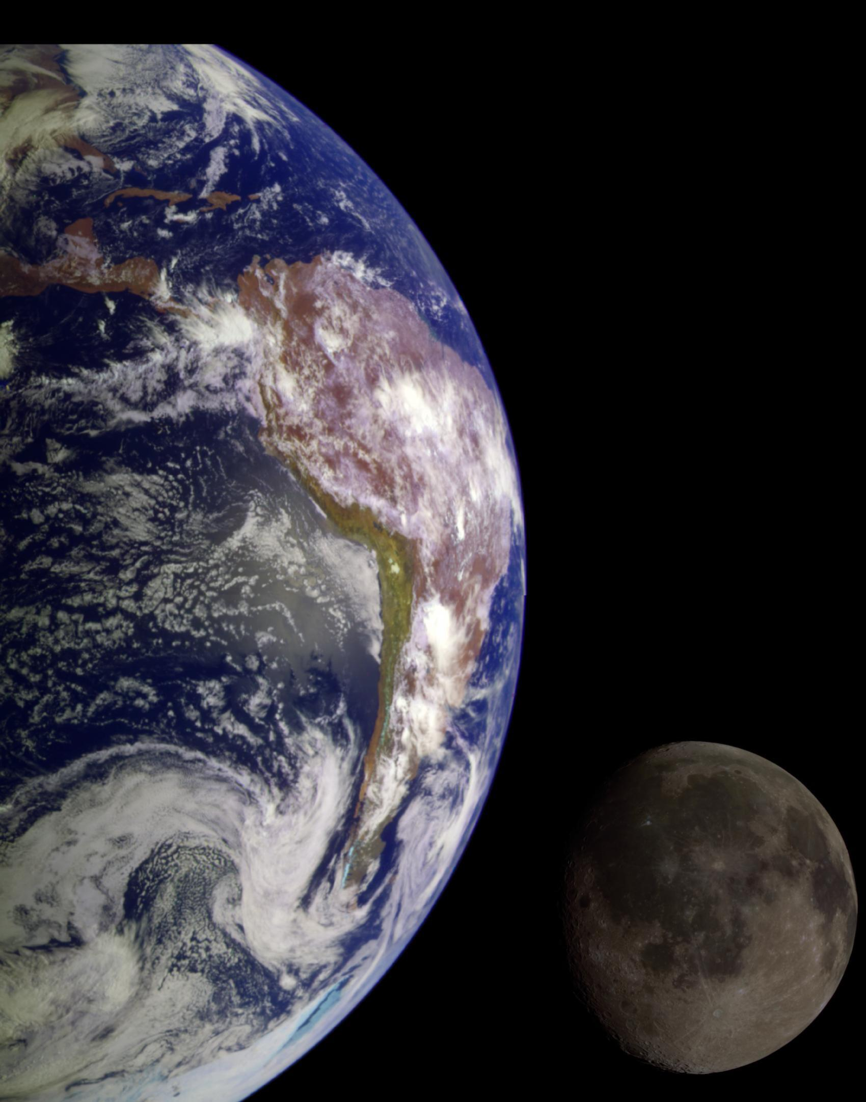 PICTURE SHOWS: During its flight, NASA's Galileo spacecraft returned images of the Earth and Moon. Separate images of the Earth and Moon were combined to generate this view. (1998)  ...   Prepare to have your mind blown - NASA has collected together a treasure trove of more than 140,000 images, videos and audio files.  The stunning collection consolidates imagery spread across more than 60 collections into one searchable location, called the NASA Image and Video Library website.  Cover Images have chosen a gallery of the most popular images currently on the website, which include the first American astronaut to walk in space and a self-portrait of NASA's Curiosity Mars rover.  The portal allows users to search and discover content from across the agency's many missions in aeronautics, astrophysics, Earth science, human spaceflight, and more.  The library is not comprehensive, but rather provides the best of what NASA makes available from a single point of presence on the web. Additionally, it is a living website, where new and archival images, video and audio files continually will be added.  When: 04 Jun 1998