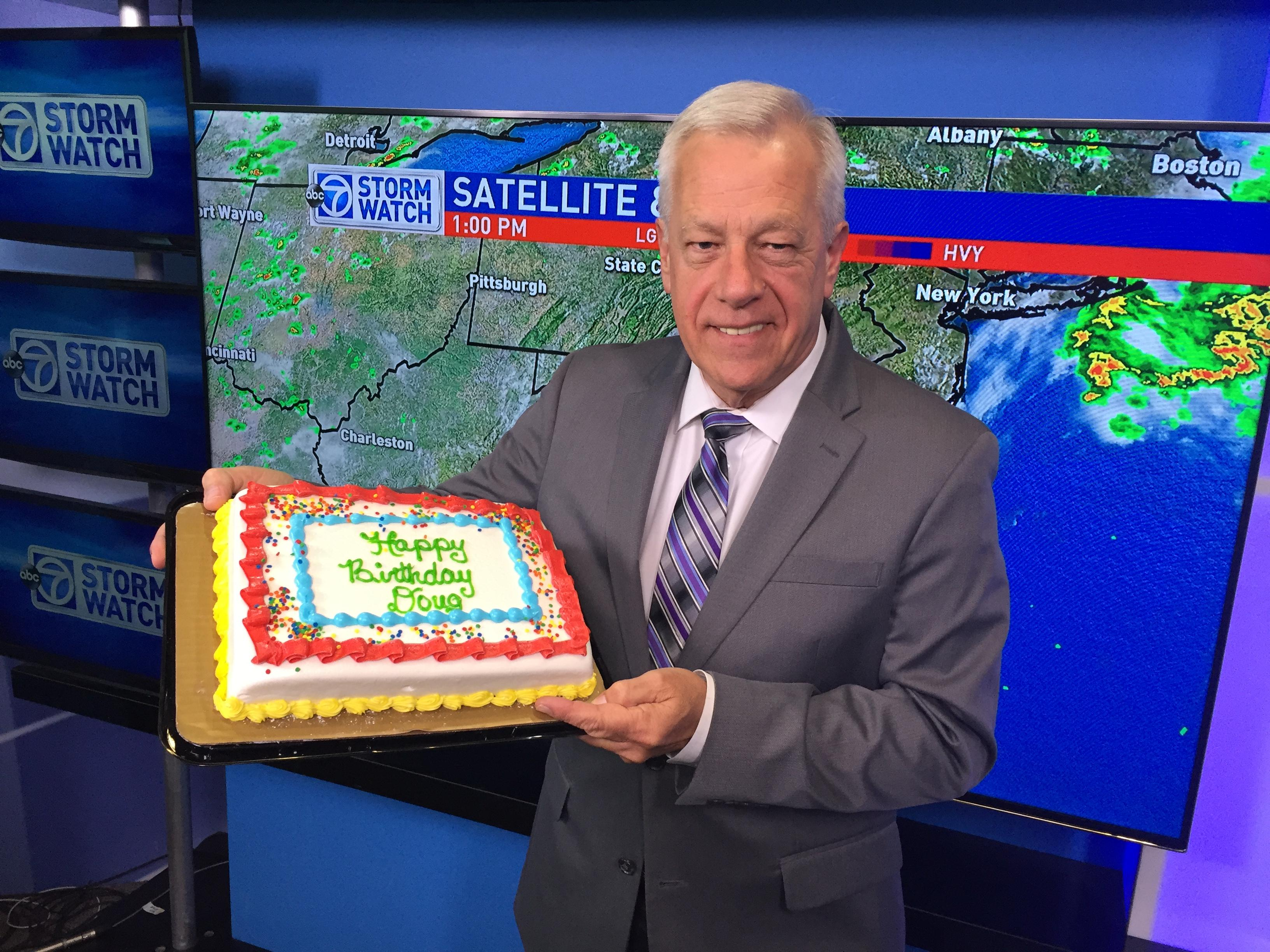 Saying farewell to StormWatch7's Chief Meteorologist Doug Hill. (ABC7)
