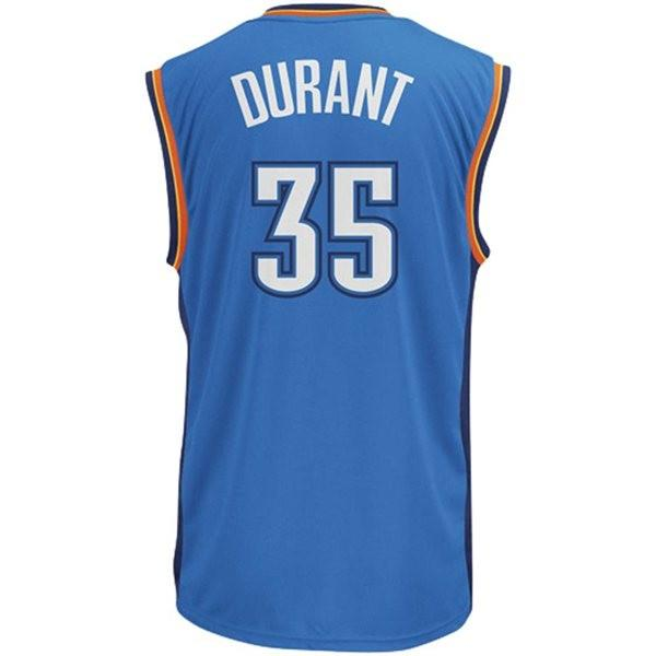 Oklahoma City Thunder forward Kevin Durant is expected by many to pick up NBA honors. He's also number 2 in jersey sales.