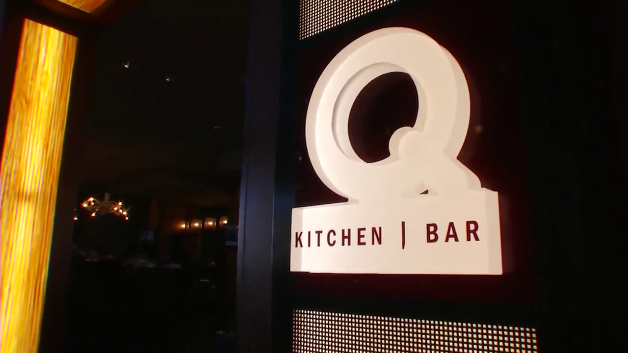 This week's Blue Plate award goes to Q Kitchen and Bar on 123 Losoya St,  inside the Hyatt Regency San Antonio Riverwalk. (News 4 San Antonio Photo)