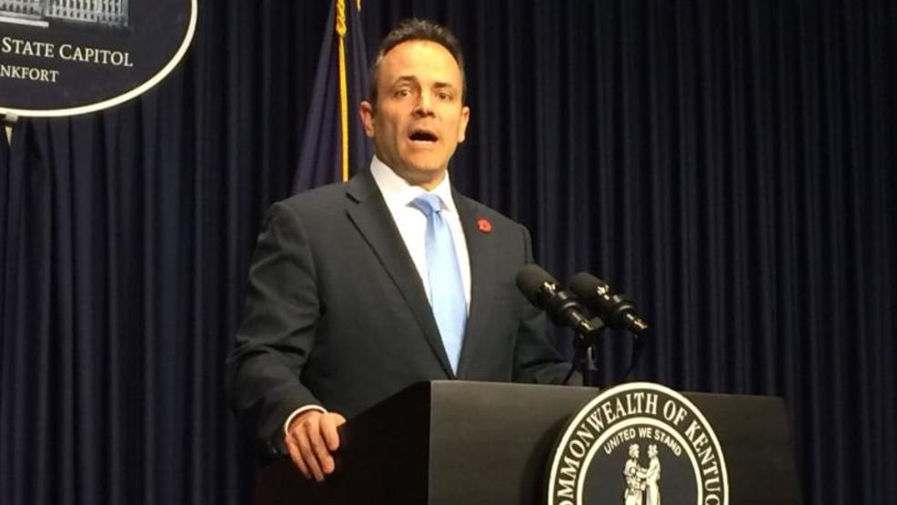 Gov  Bevin announces salary hike for some state workers   WDKY