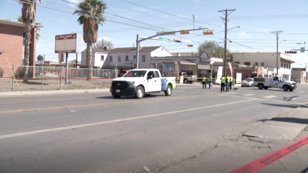 Pedestrian struck by city vehicle along Alameda Ave. in Lower Valley