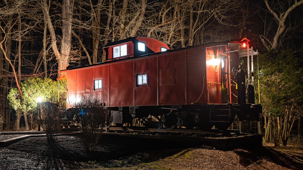 Stay the Night in This Quirky 1950s Caboose When You Visit