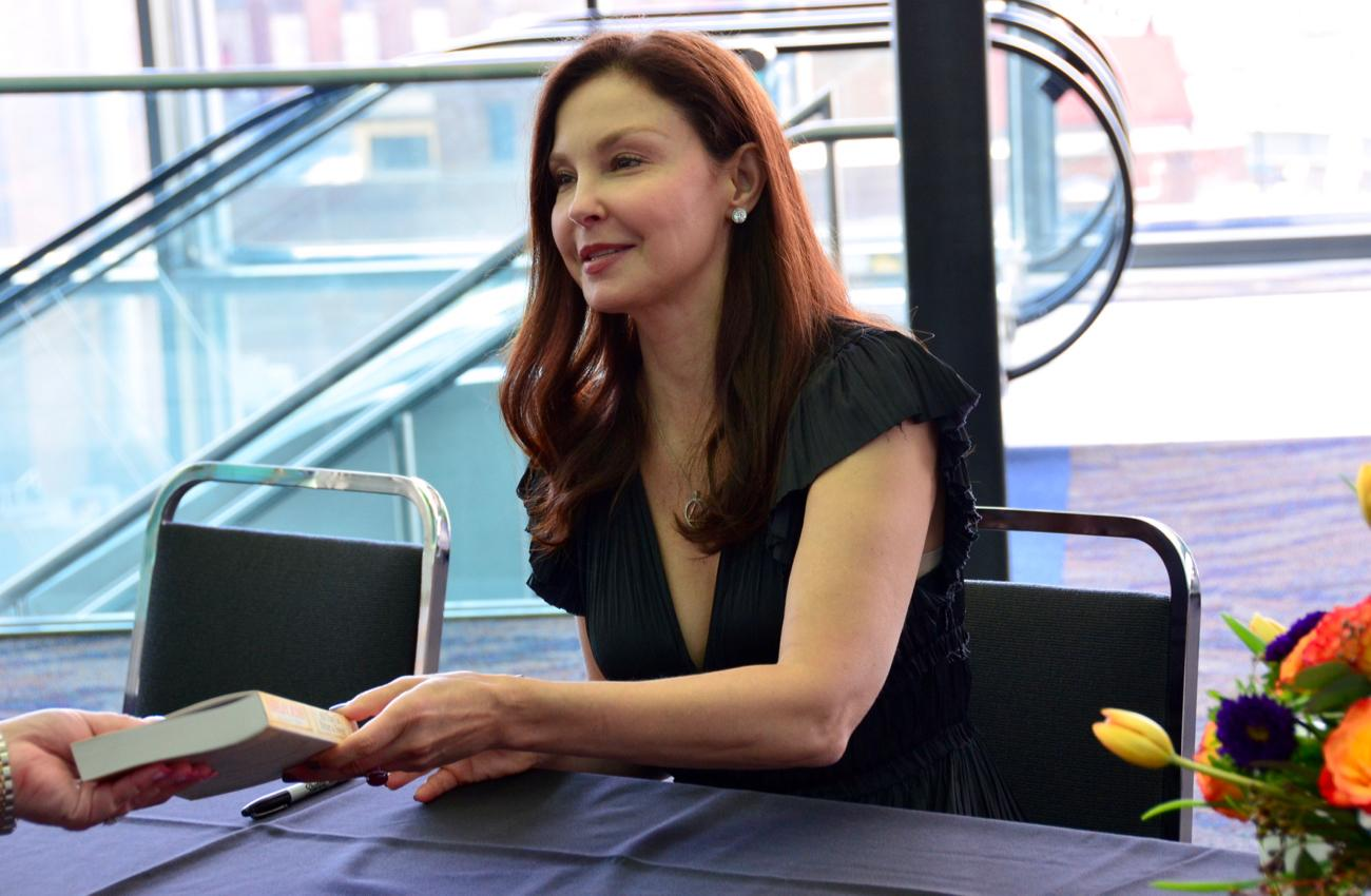 Ashley Judd, keynote speaker for the luncheon / Image: Leah Zipperstein, Cincinnati Refined // Published: 5.10.18