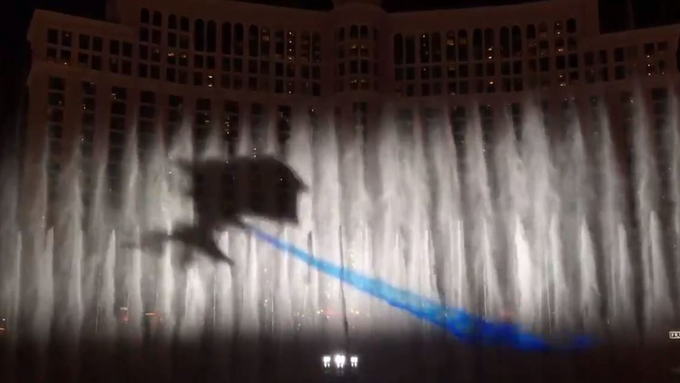 VIDEO: Fountains at Bellagio casino premiere special 'Game of Thrones' show