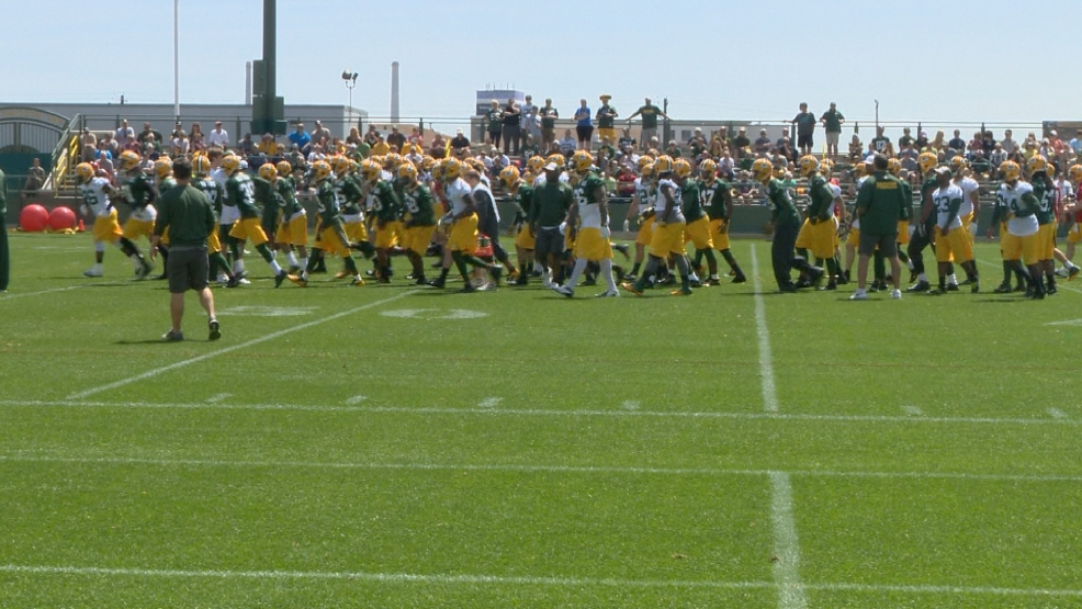 Packers Fans at OTA