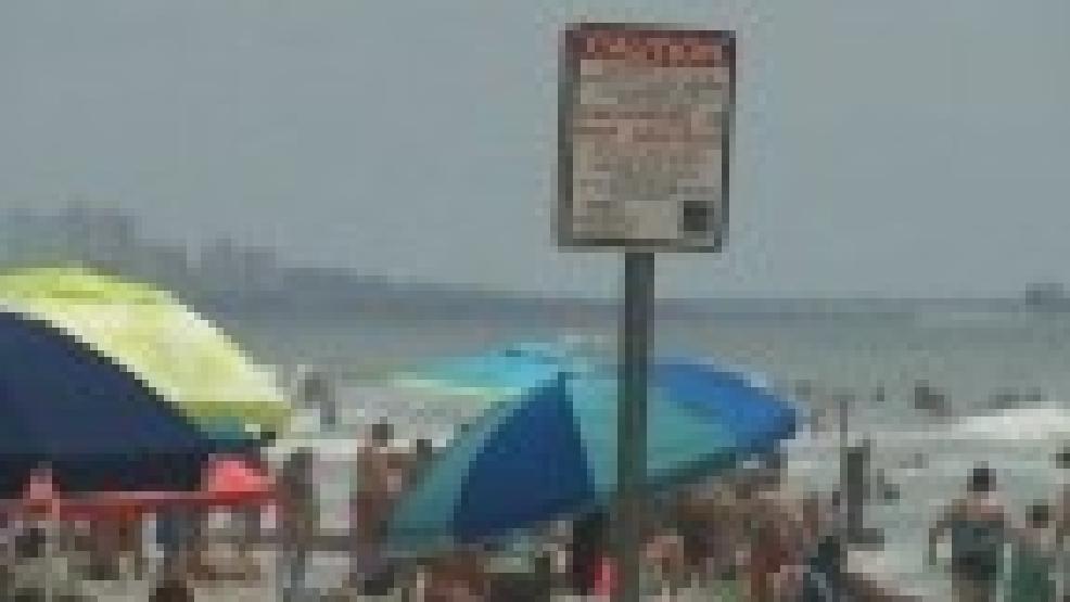 Myrtle Beach Swim Advisory August