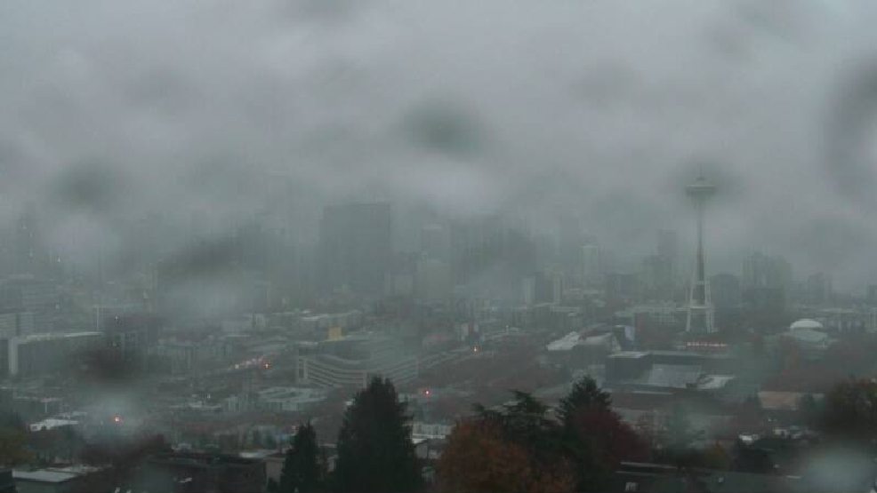 Seattle's relentlessly-rainy October sloshes its way into Top 10 territory