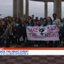 "UIS Holds Its 10th Annual ""Take Back The Night"" Event"