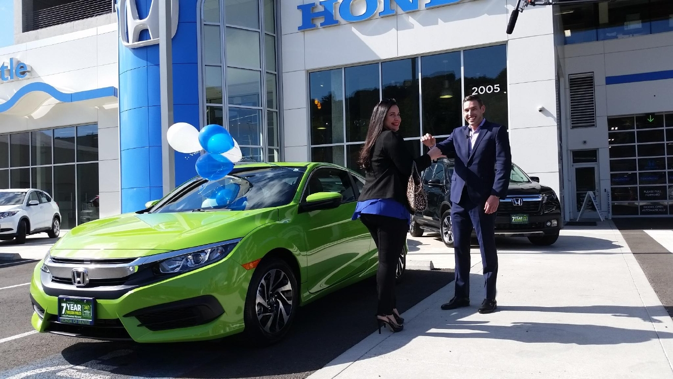 This seattle refined viewer just won a new honda seattle for Honda of seattle