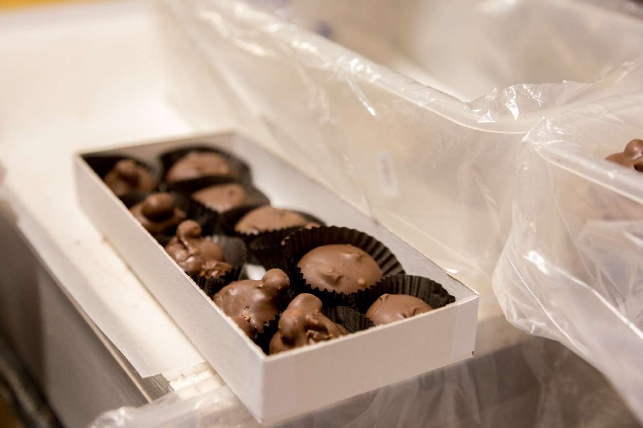 A fully prepared box of Aglamesis Brother candy / Image: Daniel Smyth Photography