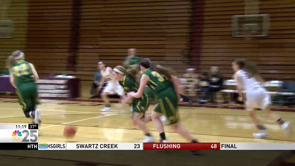 dow girls move to 11 2 in the svl with big win over davison
