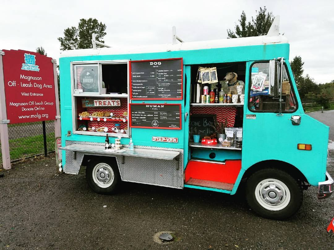 Locate the Seattle Barkery for holiday treats for your pup. The tasty, fresh treats will have your pets barking for more. Their hound cakes can be custom ordered or purchased from the treat truck.{&amp;nbsp;}Seattle Barkery treats can be found at All the Best Pet Care or through Amazon Prime Now. Find out more information at theseattlebarkery.com (Image: Seattle Refined)<p></p>