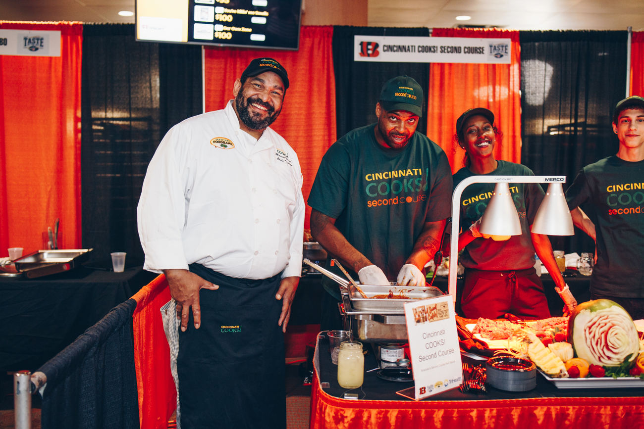 Taste of the NFL was held on Wednesday, June 13 in the West Club Lounge at Paul Brown Stadium. The fundraiser, which raised roughly $135,000, was a benefit for the Freestore Foodbank and included dinner-by-the-bite, auctions, autographs, and more. / Image: Catherine Viox // Published: 6.14.18