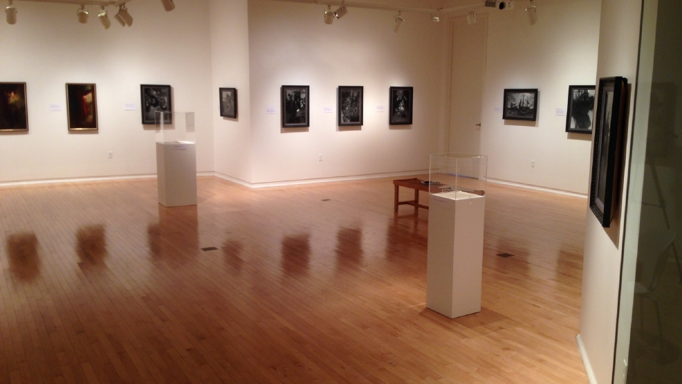 Some paintings by Howard Pyle are on display at St. Norbert College in De Pere.
