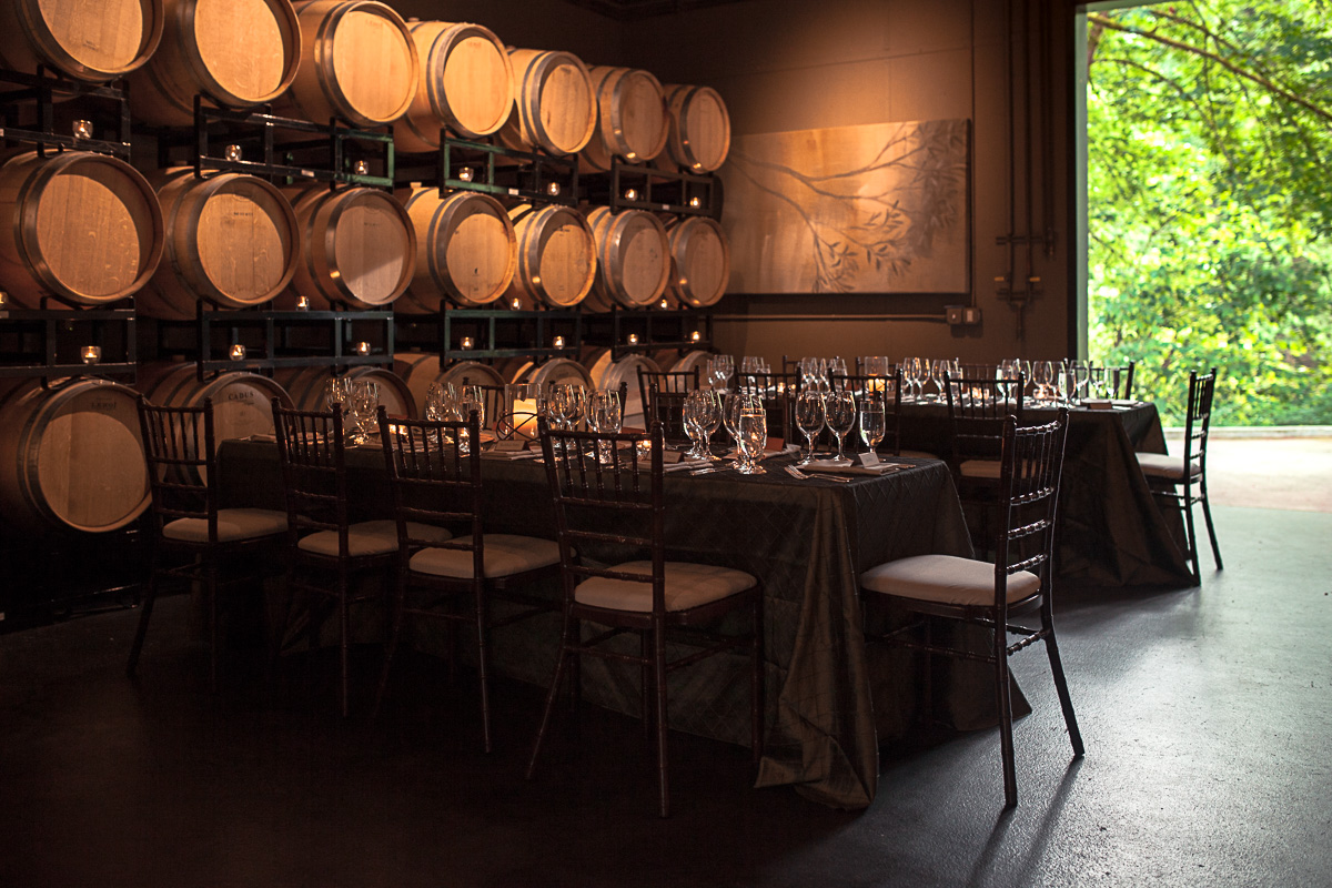 Wine tasting and dinner in honor of Dick Boushey (Image: Paola Thomas / Seattle Refined)