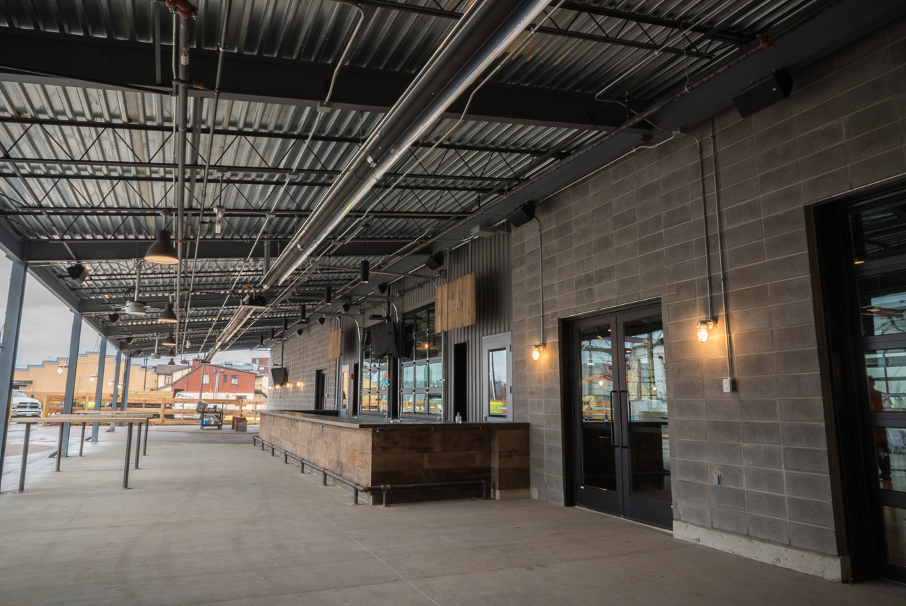 MadTree 2.0 is the biggest upgrade the local brewery has ever seen. The new building is 50,000-square-feet and features a dog-friendly patio, a taproom that accommodates roughly 500 people, a new kitchen for Catch-A-Fire Pizza, and back-to-back indoor/outdoor bars with taps that serve the gamut of their brewing line. ADDRESS: 3301 Madison Rd, Cincinnati, OH 45209 / Image: Phil Armstrong, Cincinnati Refined // Published: 2.11.17