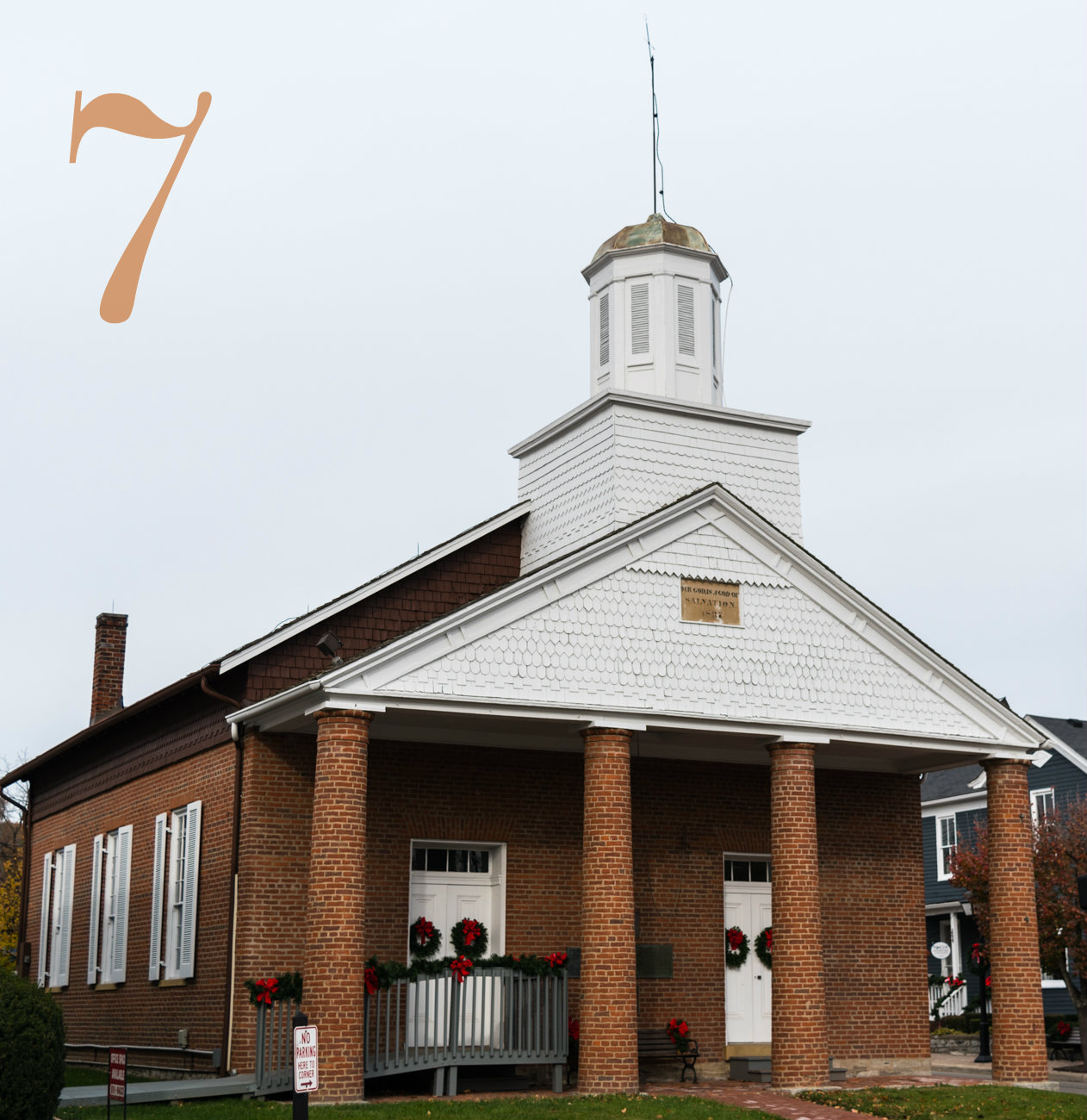 #7 - The city of Montgomery, just north of Cincinnati, is old. Like, really old. Case in point: The Universalist Church (which is pictured) was built in 1837. / Image: Phil Armstrong, Cincinnati Refined