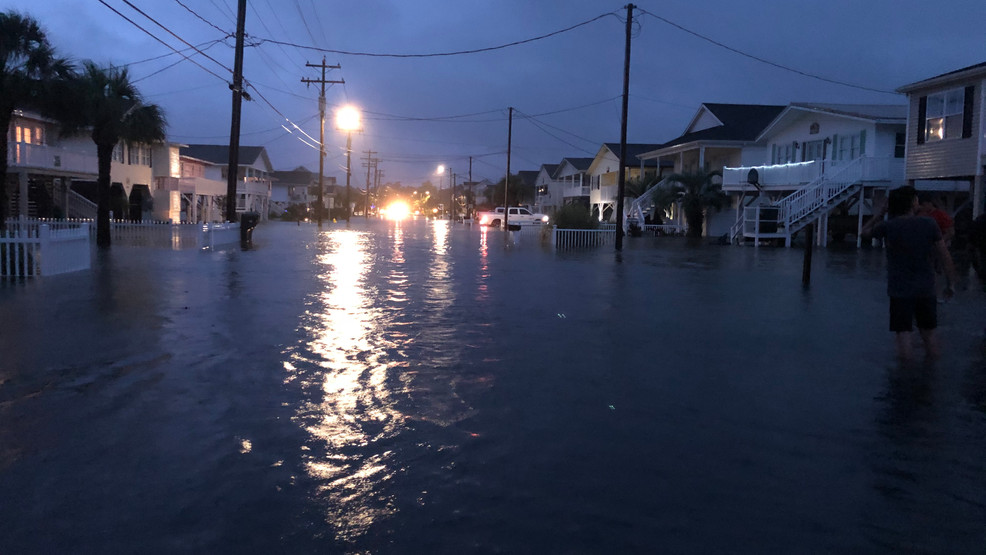 Cherry Grove neighbors inundated by Isaias storm surge, homes flooded