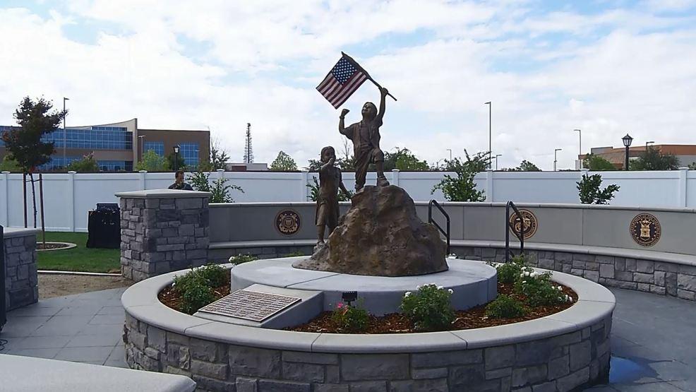Hoffmann Hospice Unveils God Bless America Statue And Garden Kbak