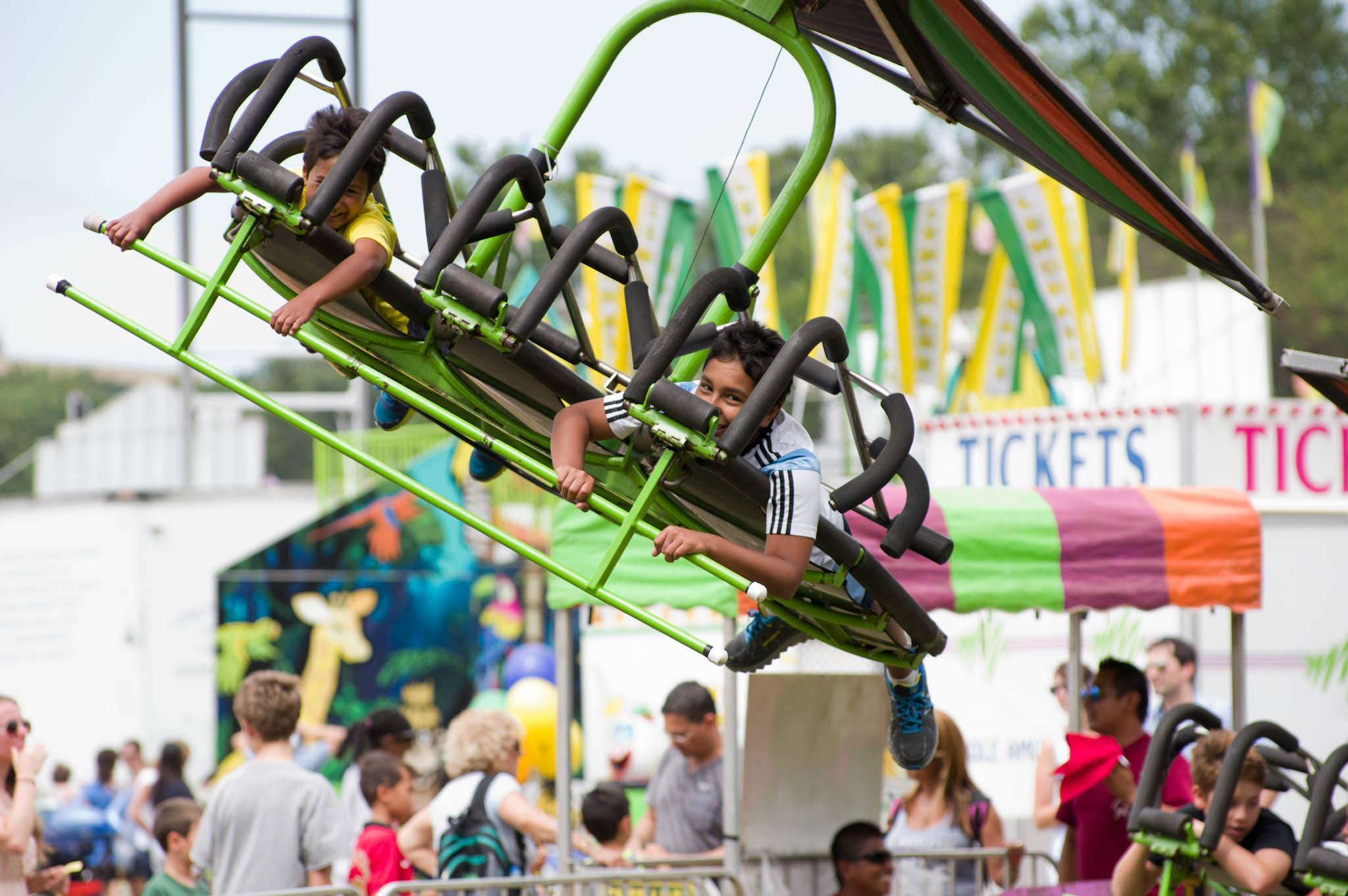 Some of the new attractions will include a large interactive sculpture by Arlington Art Truck and lots of kids' shows. (Image: Courtesy Arlington County Fair) <p></p>