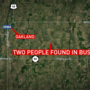 Two found dead in bus fire in rural Iowa