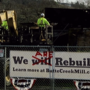 Deconstruction begins on old Butte Creek Mill site