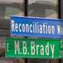 Controversy over changing the name of the Brady District