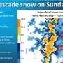 Winter weather advisory issued for the Cascades Sunday