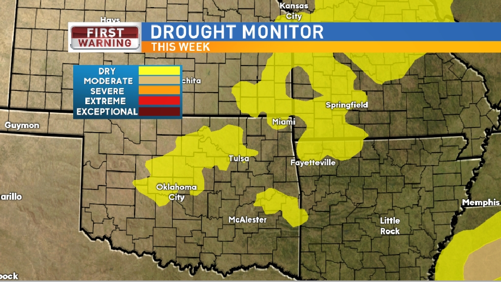 DROUGHT UPDATE: Getting Dry in Oklahoma