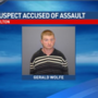 Wanted suspect arrested on domestic assault charge