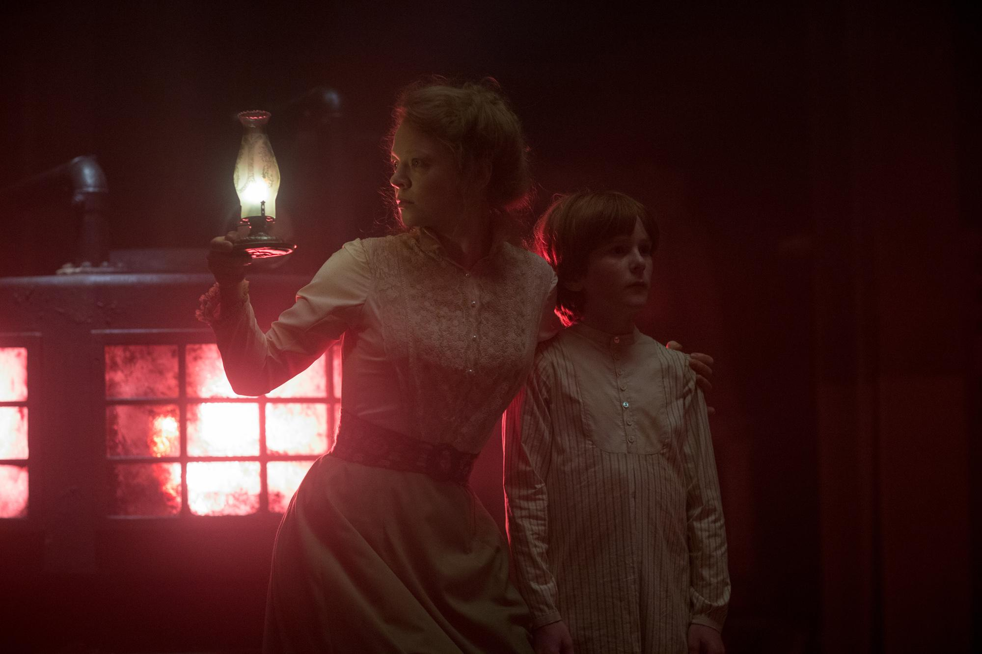 <p>Sarah Snook and Finn Scicluna-O'Prey in WINCHESTER to be released by CBS Films and Lionsgate. (Photo: CBS Films)</p>