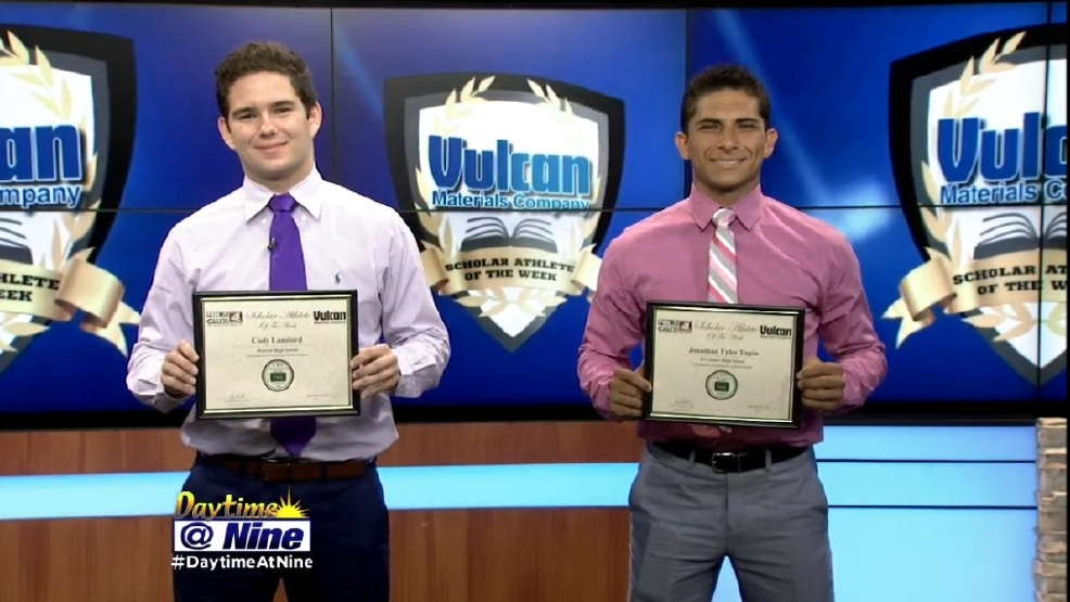 Scholar athletes of the week