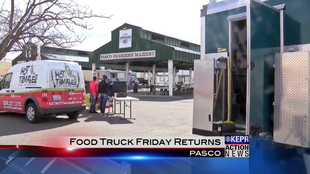 Food Truck Friday gives a new taste of the Tri-Cities   KEPR