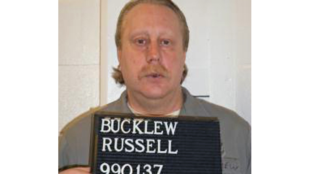FILE - In this Feb. 9, 2014 file photo provided by the Missouri Department of Corrections is Russell Bucklew who is scheduled to die for killing a romantic rival as part of a crime spree in southeast Missouri in 1996. Bucklew, who suffers from a congenital condition that causes weakened and malformed blood vessels, told the Associated Press Friday, May 16, 2014 that he is scared that the lethal drug could cause him to suffer or be left alive but brain-dead. His would be the first execution since Oklahoma inmate Clayton Lockett died of a heart attack 43 minutes after a vein collapsed following injection. (AP Photo/Missouri Department of Corrections, File)