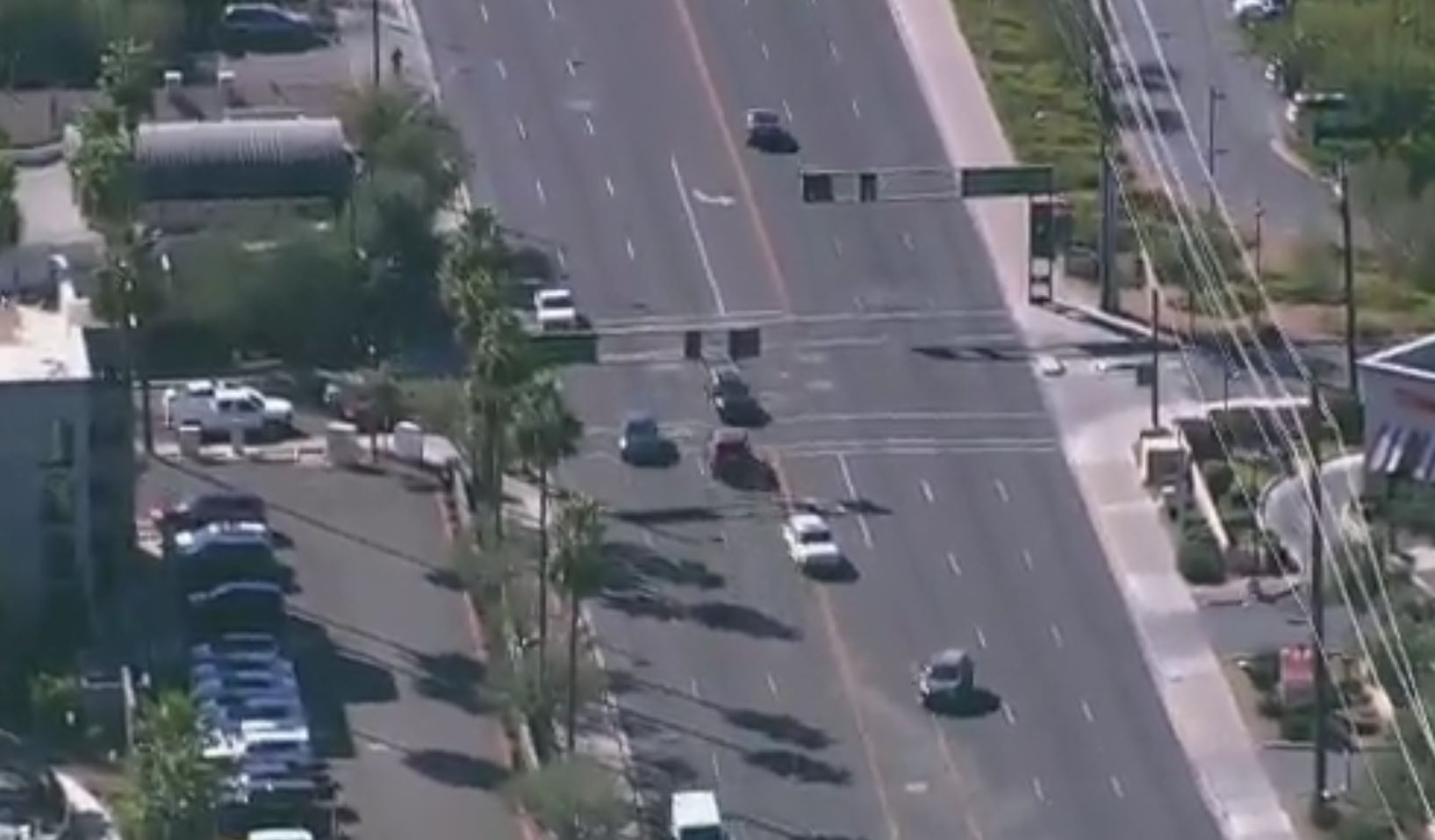 Police chase in Arizona ends in violent head-on crash  (Video: KPHO, KTVK / CNN Newsource)