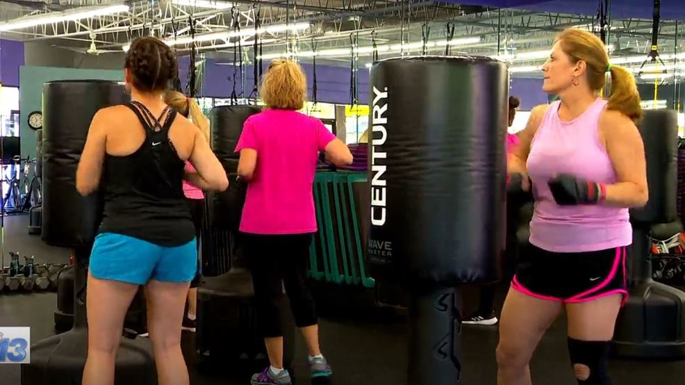Women's gym members step up to help nonprofit supporting women with cancer