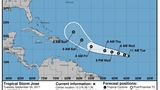 Tropical Storm Jose gaining strength in Atlantic