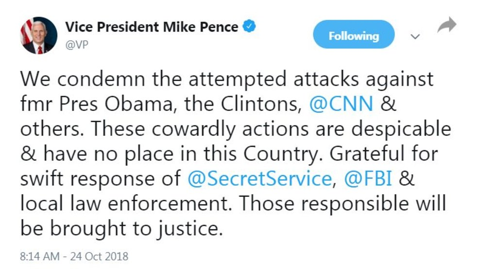 bombs sent to Clintons Obamas CNN Tweet grab 3V.jpg
