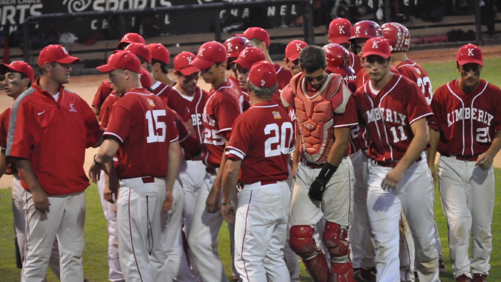Kimberly will play for the Division 1 state title on Thursday, weather permitting, against Sun Prairie. (Doug Ritchay/WLUK)