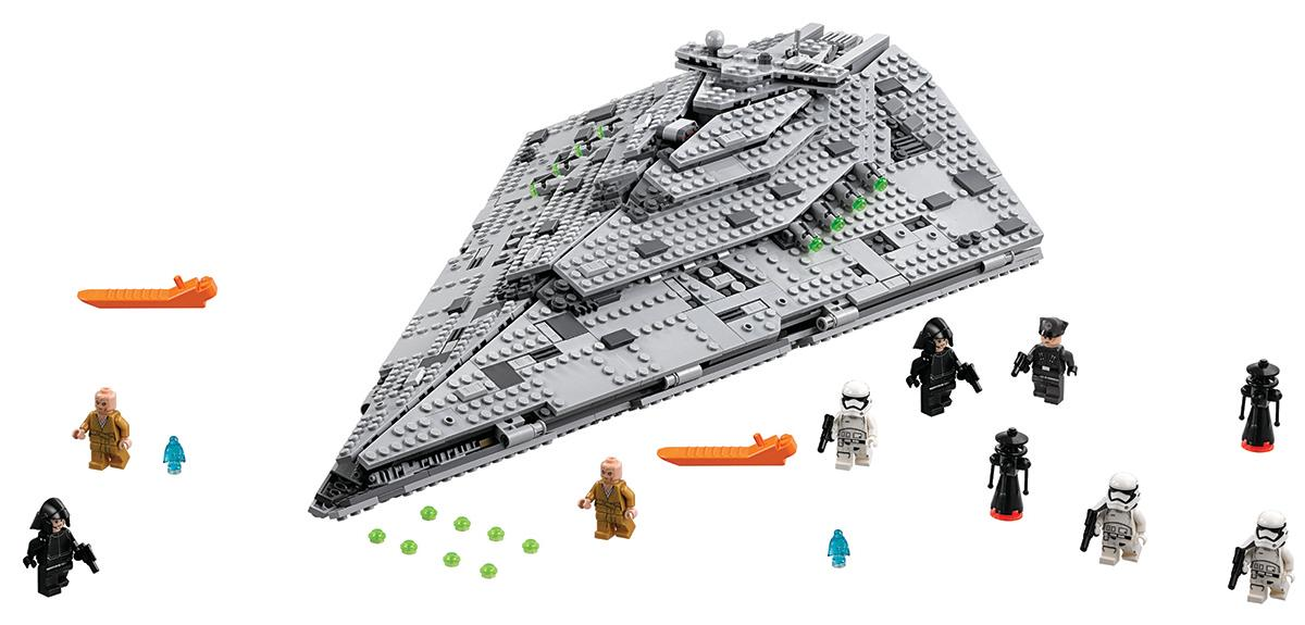 LEGO Star Wars First Order Star Destroyer/Photo courtesy of the Toy Insider