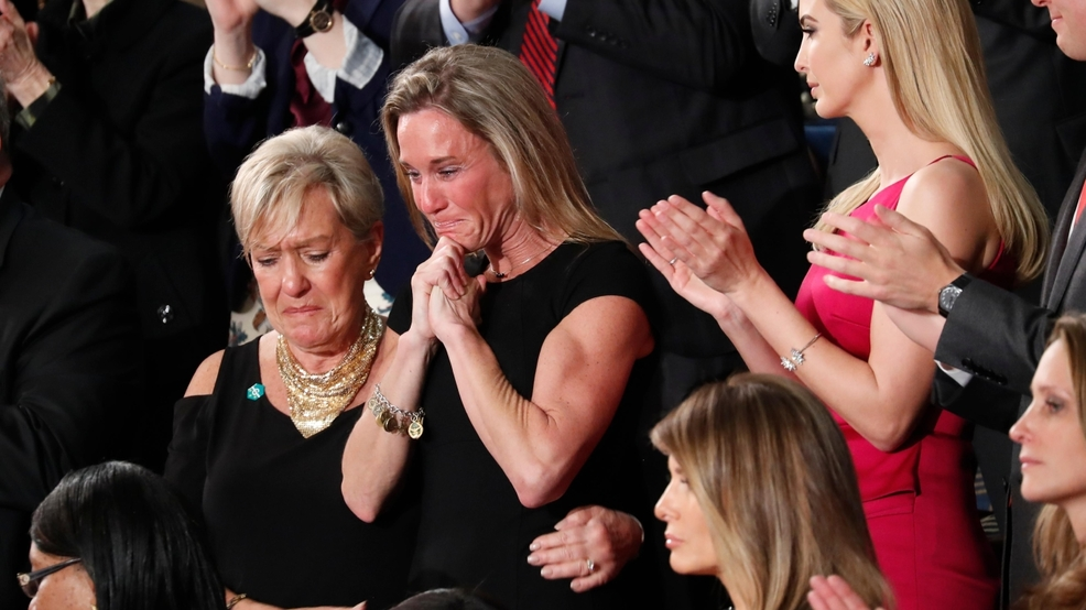 widow of Ryan Owens at Trump speech.jpg