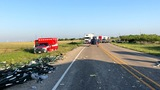 2 seriously injured: 18-wheelers collide near Sweetwater, spilling potatoes, fence posts