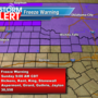 Freeze warning in effect for part of the Big Country