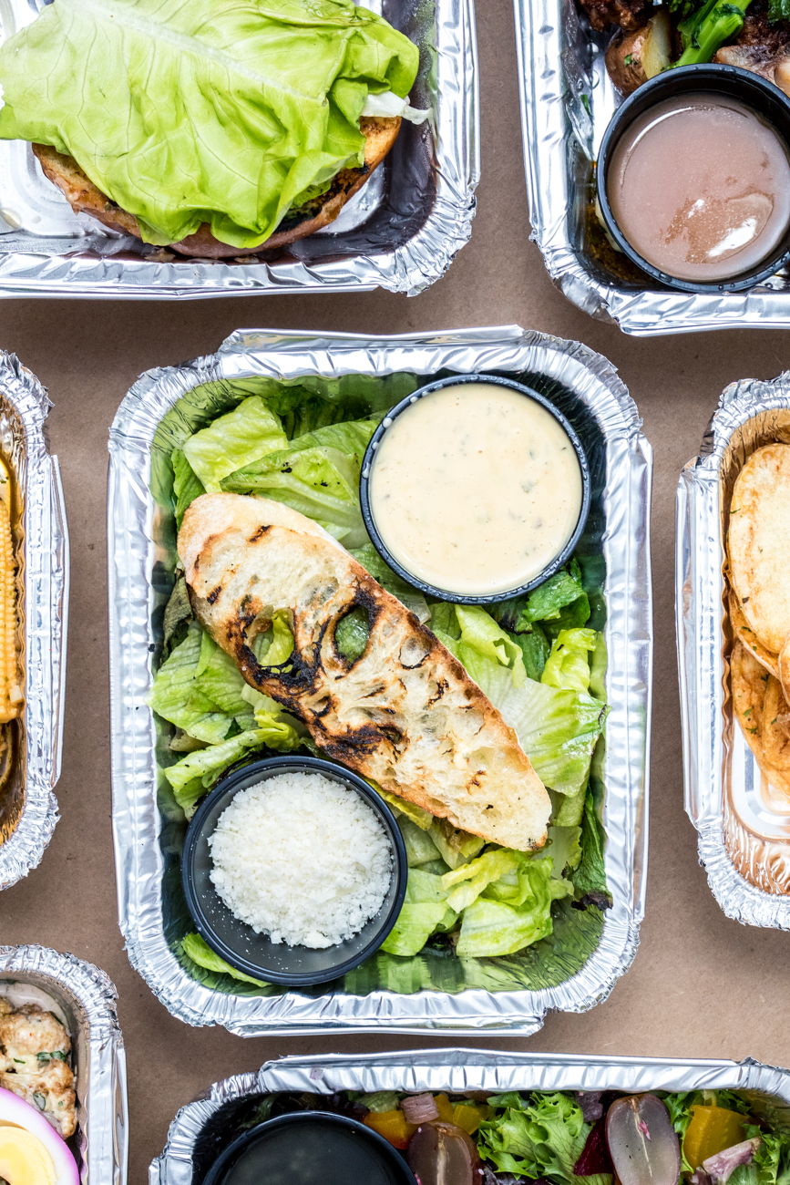 PLACE: Pampas Argentine Gastropub / ADDRESS: 2038 Madison Road (O'Bryonville) / Grilled Caesar salad and more /{ }Order online{ }/ Image: Catherine Viox // Published: 1.10.21