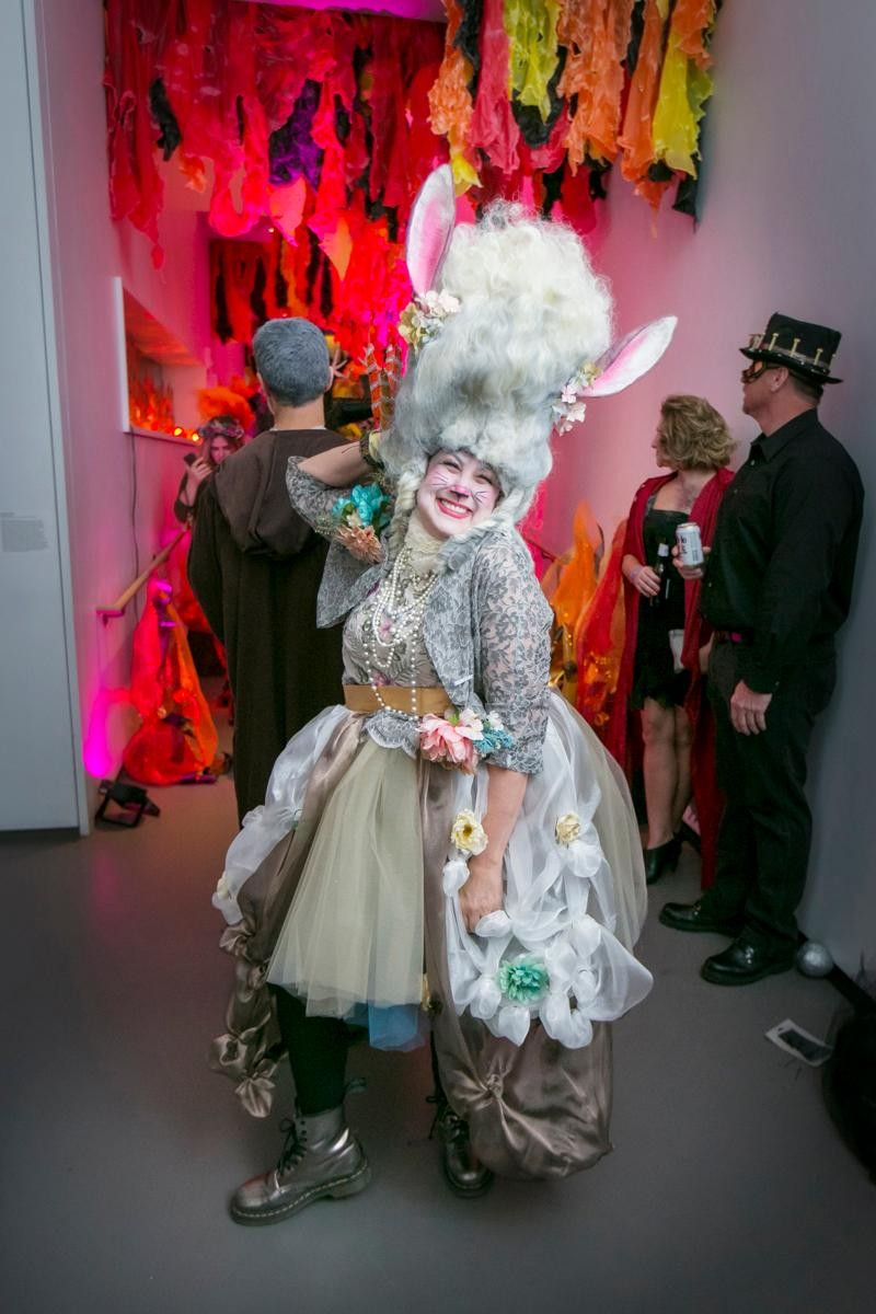 People: Pam Kravetz / Event: 21c's Secret Garden Halloween Party (10.28.17) / Image: Mike Bresnen / Published: 11.3.17