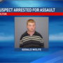 Wanted suspect arrested on domestic assault